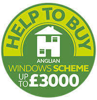 Save up to £3,000 on windows, doors and porches with the Anglian Help To Buy scheme