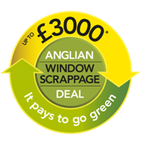 Save up to £3,000 by recycling your old windows and doors with the Anglian Scrappage Scheme