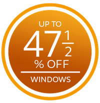 save up to £3000 plus up to 47.5% off windows