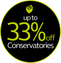 33% off conservatories
