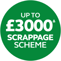 PLUS UP TO £3000 SCRAPPAGE