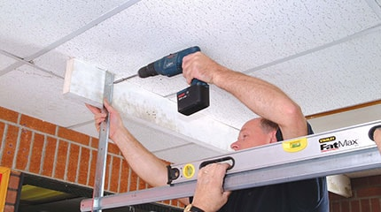 Installing an Anglian garage door