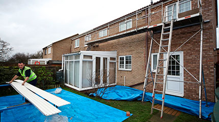 Preparing for an Anglian rooftrim installation