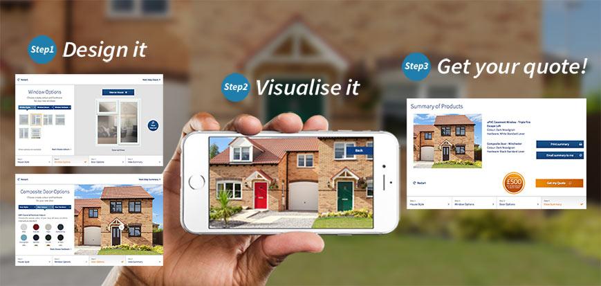 Window Door Designervisualiser Anglian Home Improvements
